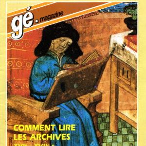 Les dossiers de généalogie Magazine