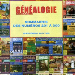 Index Généalogie Magazine